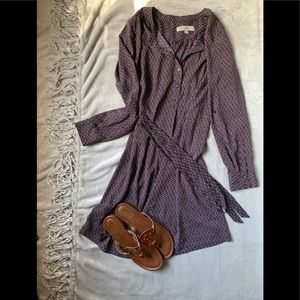 LOFT Burgundy Dress